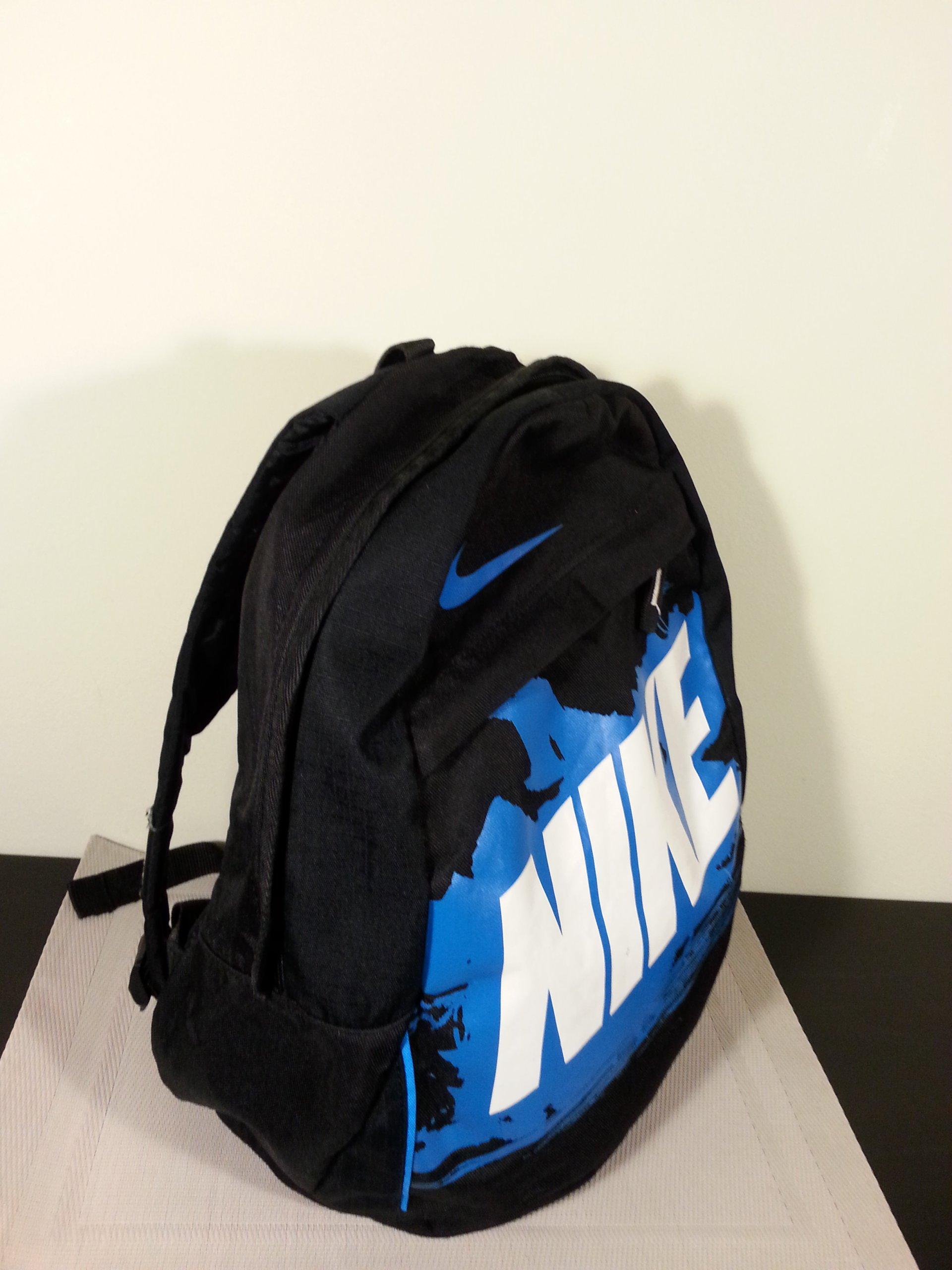 98682f6ce Plecak NIKE, czarny, pojemność 20 litrów, OKAZJA - 7110963379 ...