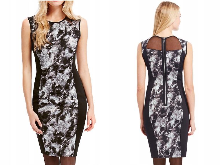71959a6f M&S Sukienka na wesele ołówkowa OUTLET 1456 36 - 6374184599 ...
