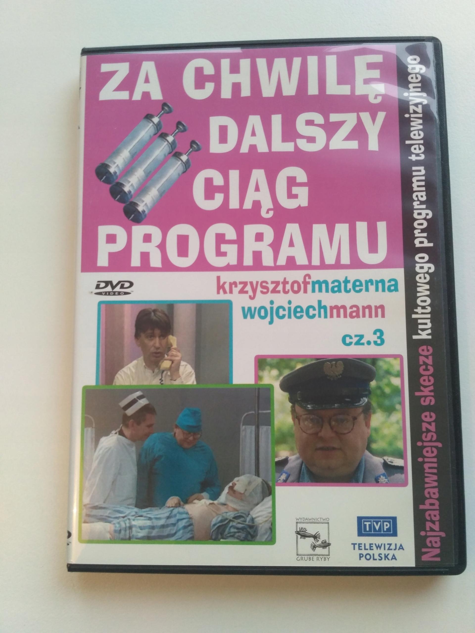 Dvd Za Chwilę Dalszy Ciąg Programu Cz 1 3 7691957060