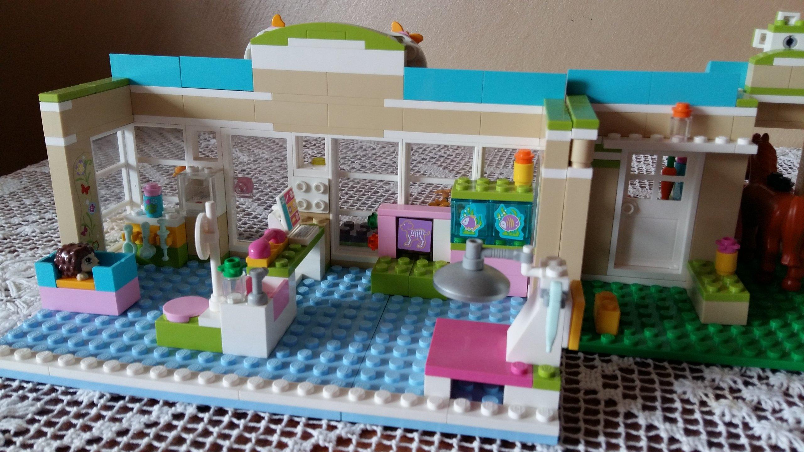 Klocki Lego Friends Weterynarz W Heartlake 3188 7397443455