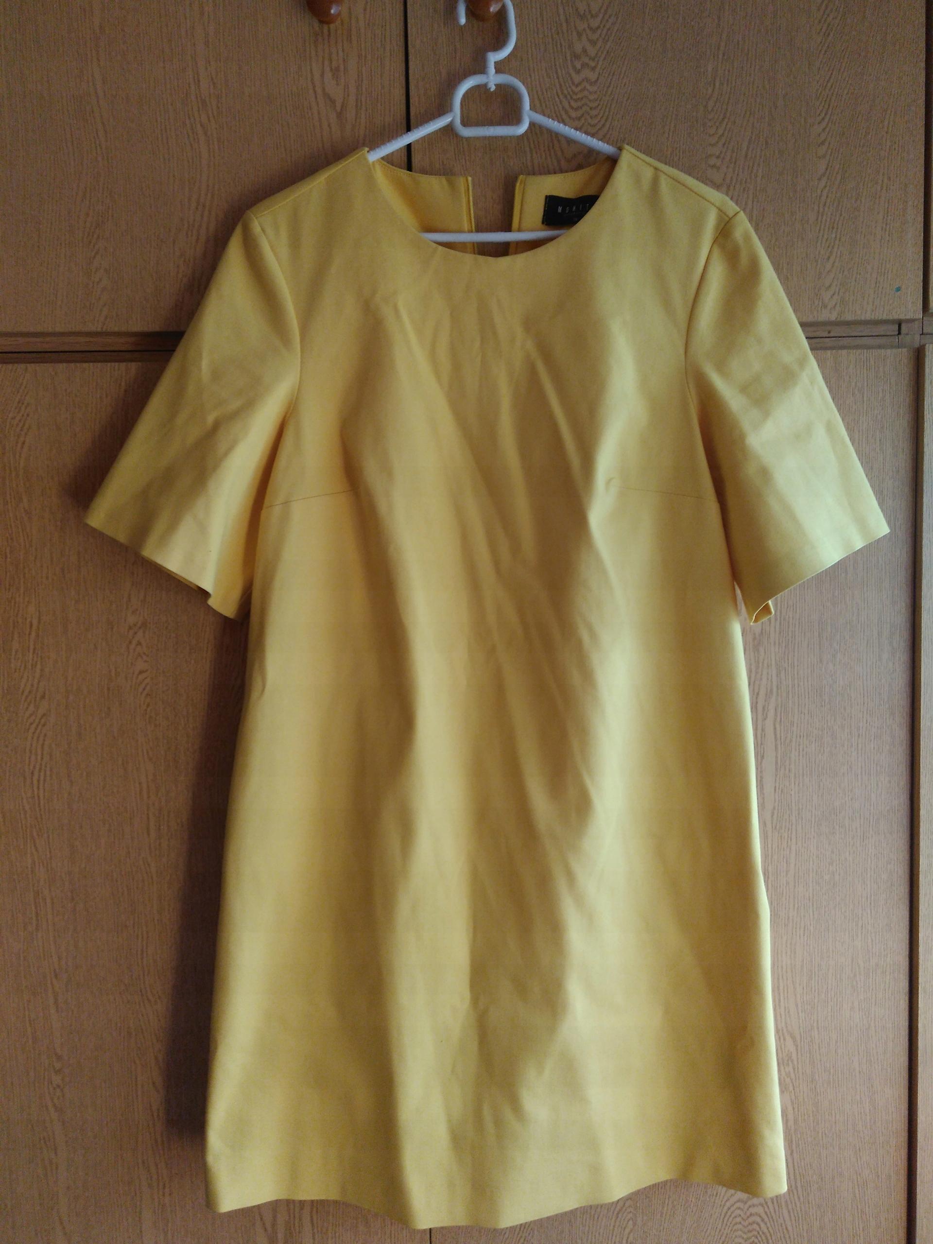 f904892ea2 Sukienka Mohito rozmiar 38 żółta ko - 7570990748 - oficjalne ...