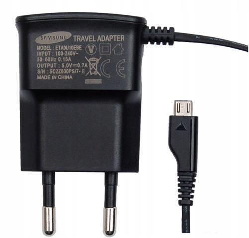 Samsung Ładowarka Podróżna Micro USB Czarna 1,5m