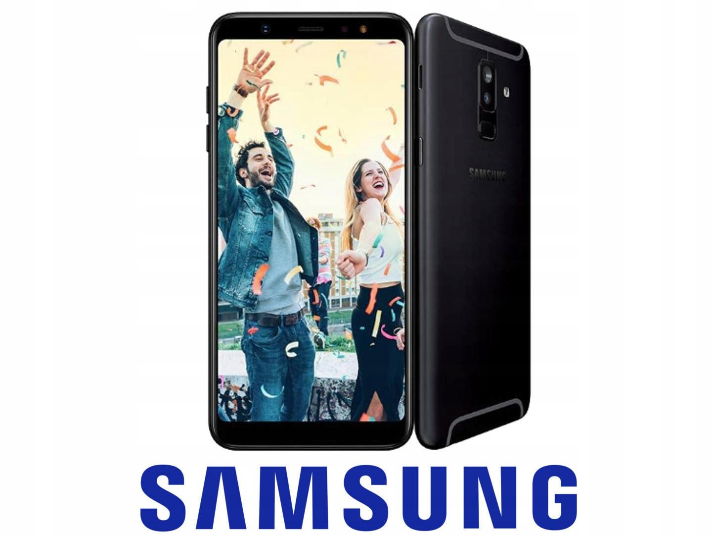Samsung Galaxy A6+ DualSim 32GB black NFC LTE