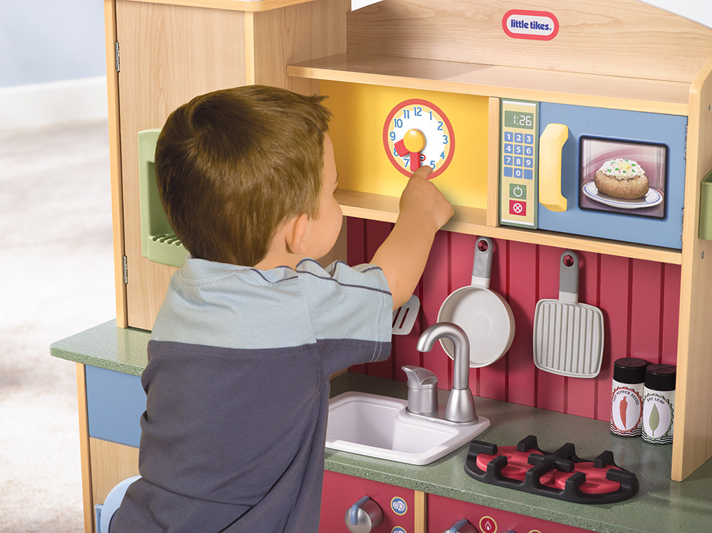 Little Tikes Kuchnia Drewniana Kuchenne Kreacje 7399252478