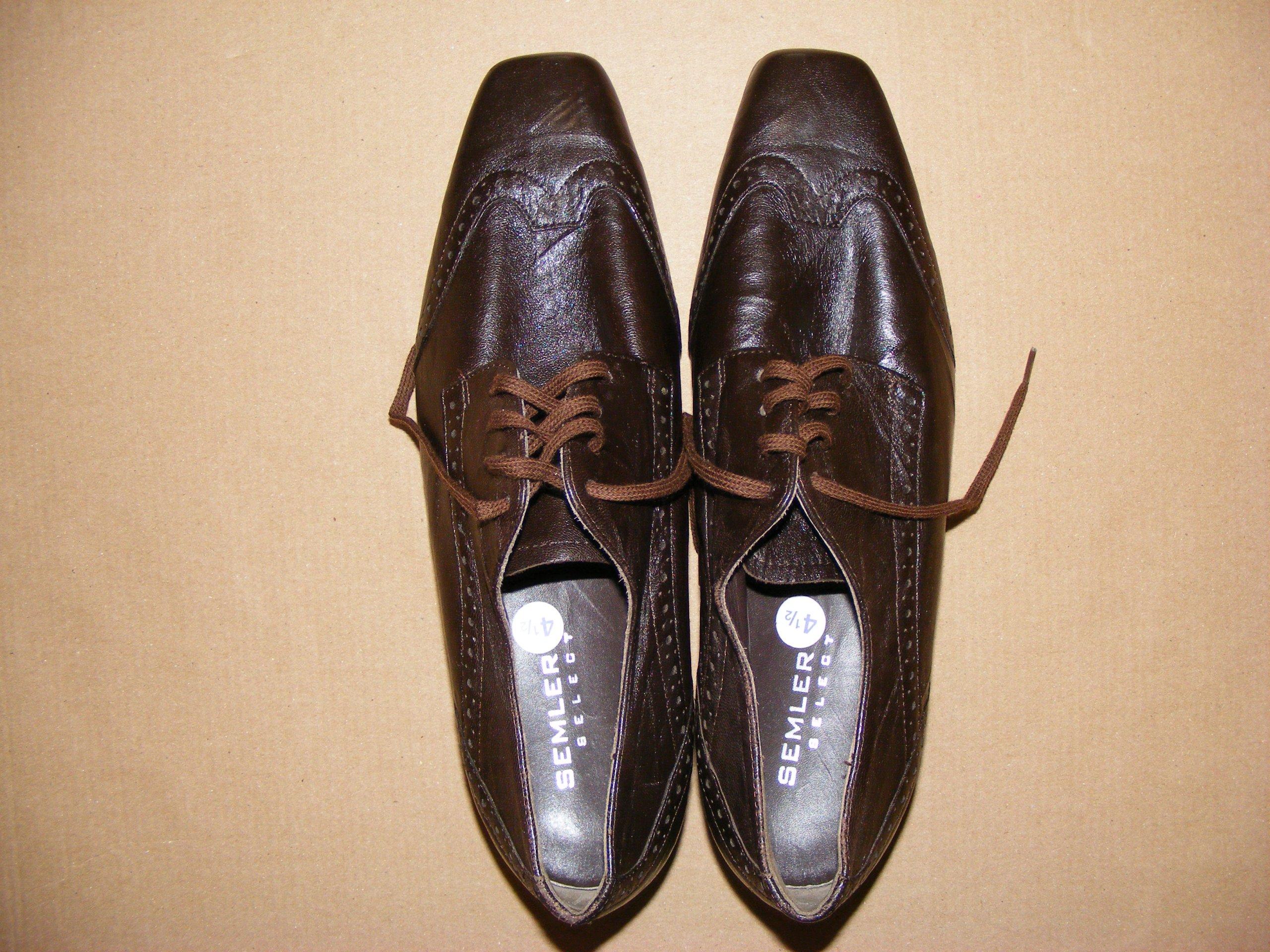 WYPRZEDAŻ SEMLER buty, skóra nat 37,5 jNOWE