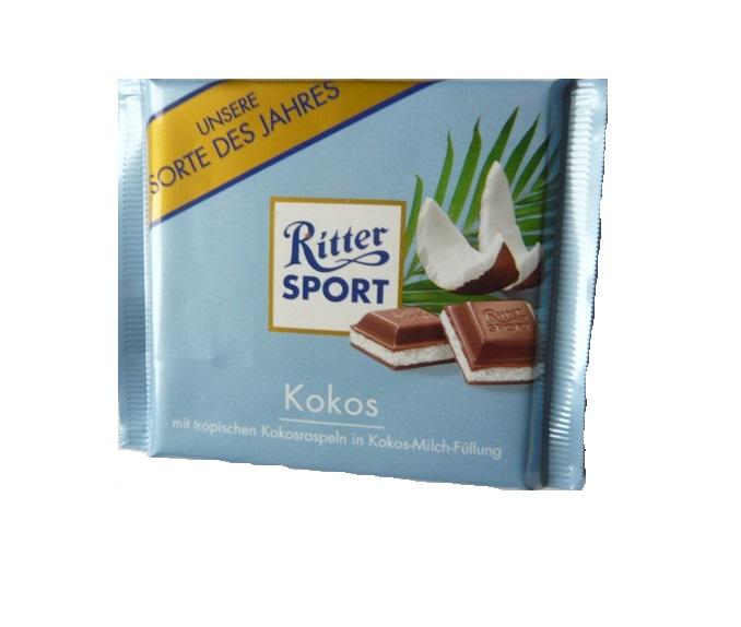 czekolada RITTER SPORT Kokos Niemcy