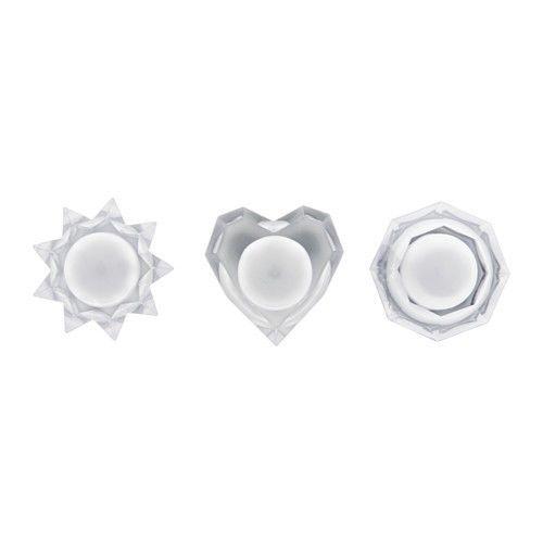 Ikea Dekoracyjne Kryształy Strala 3 Szt światełka