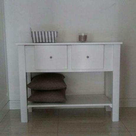 Zaktualizowano konsola biała nowa drewniana skandynawski nie IKEA - 7116410728 MS45