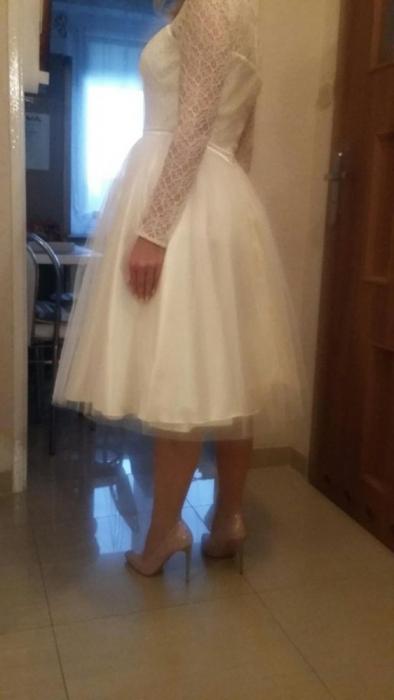 b345334859 ... Krótka Sukienka ślubna Afrodyta Capri.Ślub cywilny. sukienka do ślubu  cywilnego