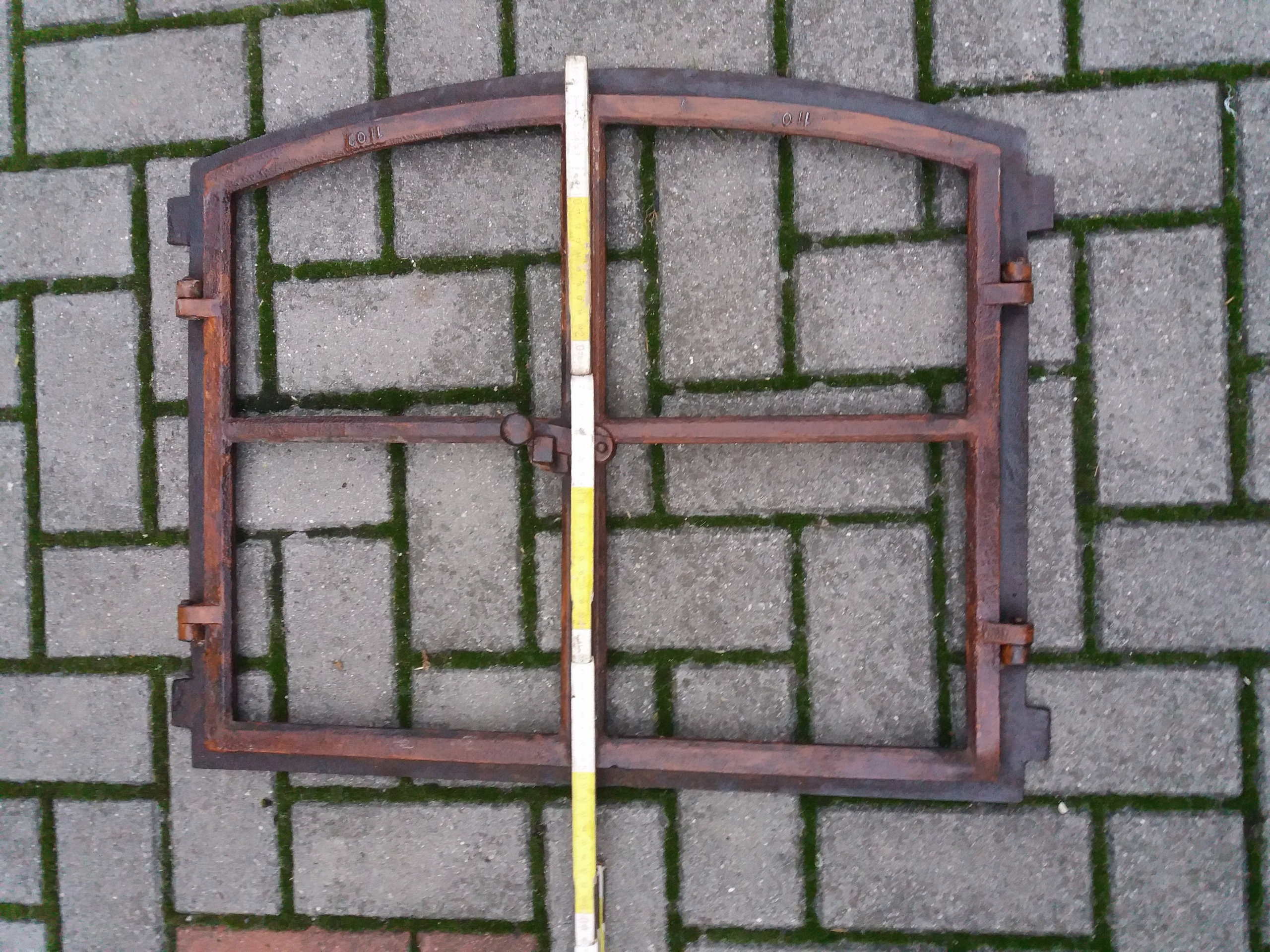 W Mega stare okno żeliwne LOFT - 7655910072 - oficjalne archiwum allegro QY51