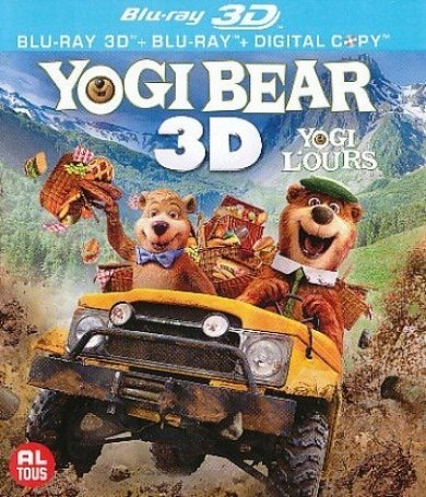 BLU-RAY Animation - Yogi Bear -3D- Bilingual - 3D+