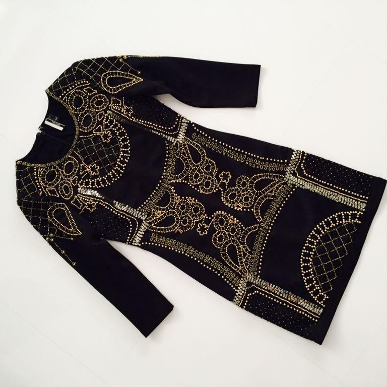 0bf692ec83 Topshop piękna sukienka Balmain Asos Zara Hit blog - 7146029429 ...
