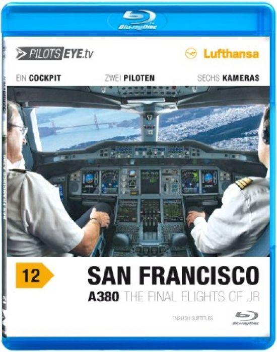 PilotsEYE.tv   A380 SAN FRANCISCO    Blu-ray Disc