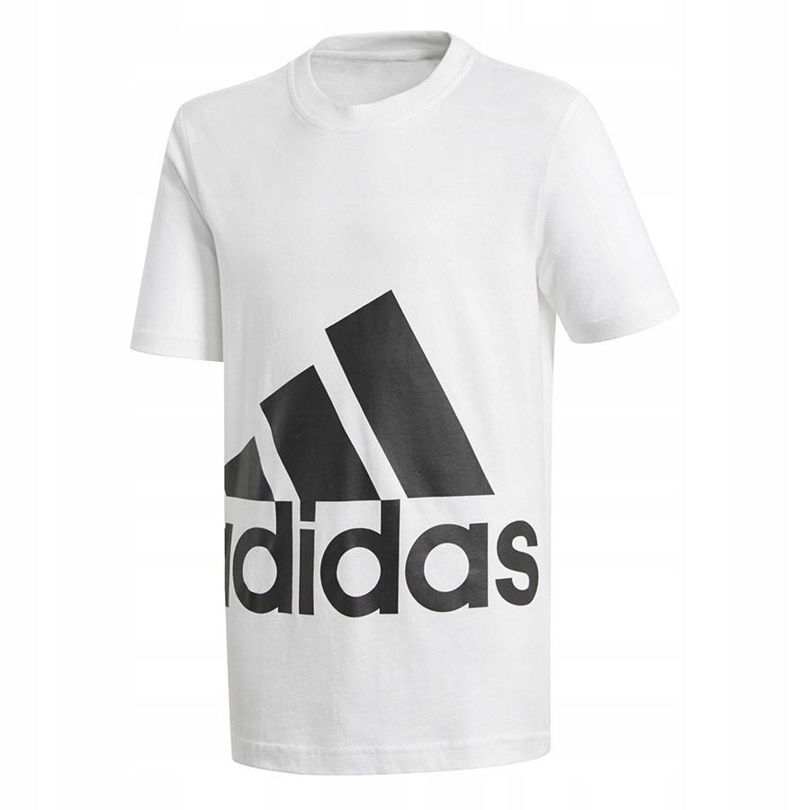 4e1c246834 Koszulka adidas YB BIG Logo Tee BP8760 164 cm biał - 7445310866 ...