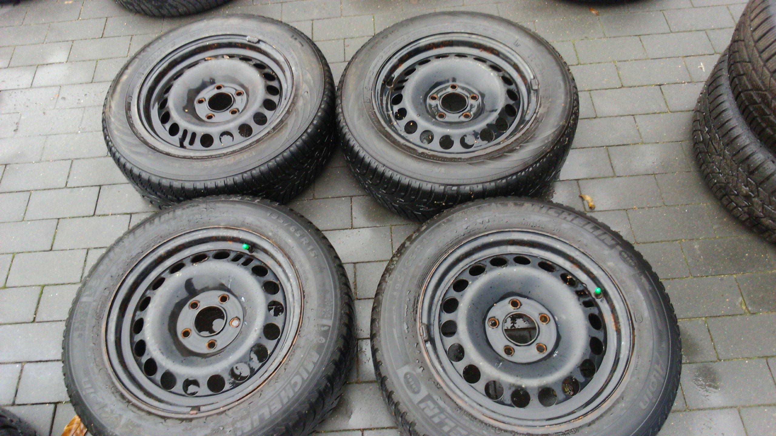 4 Opony Zimowe 15 Cali Z Felgami 5x108 7096014034 Oficjalne
