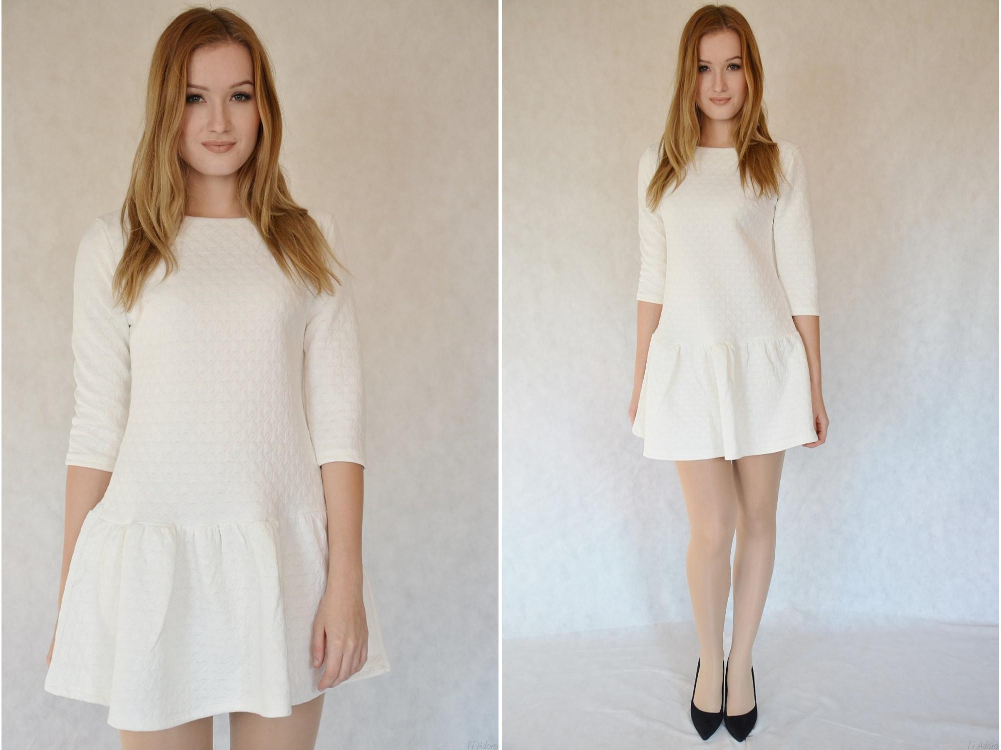 7ffba1f7d2 Moda Italia - Sukienka Biała - 6757414949 - oficjalne archiwum allegro