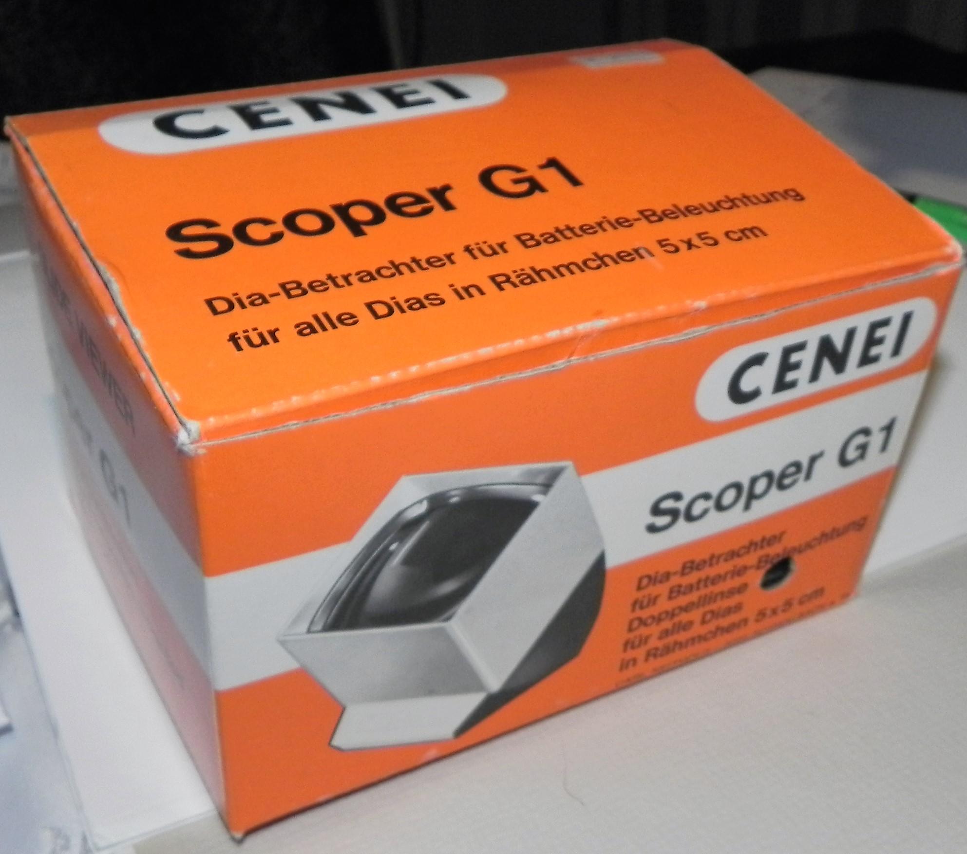 Przeglądarka do slajdów Scoper G1