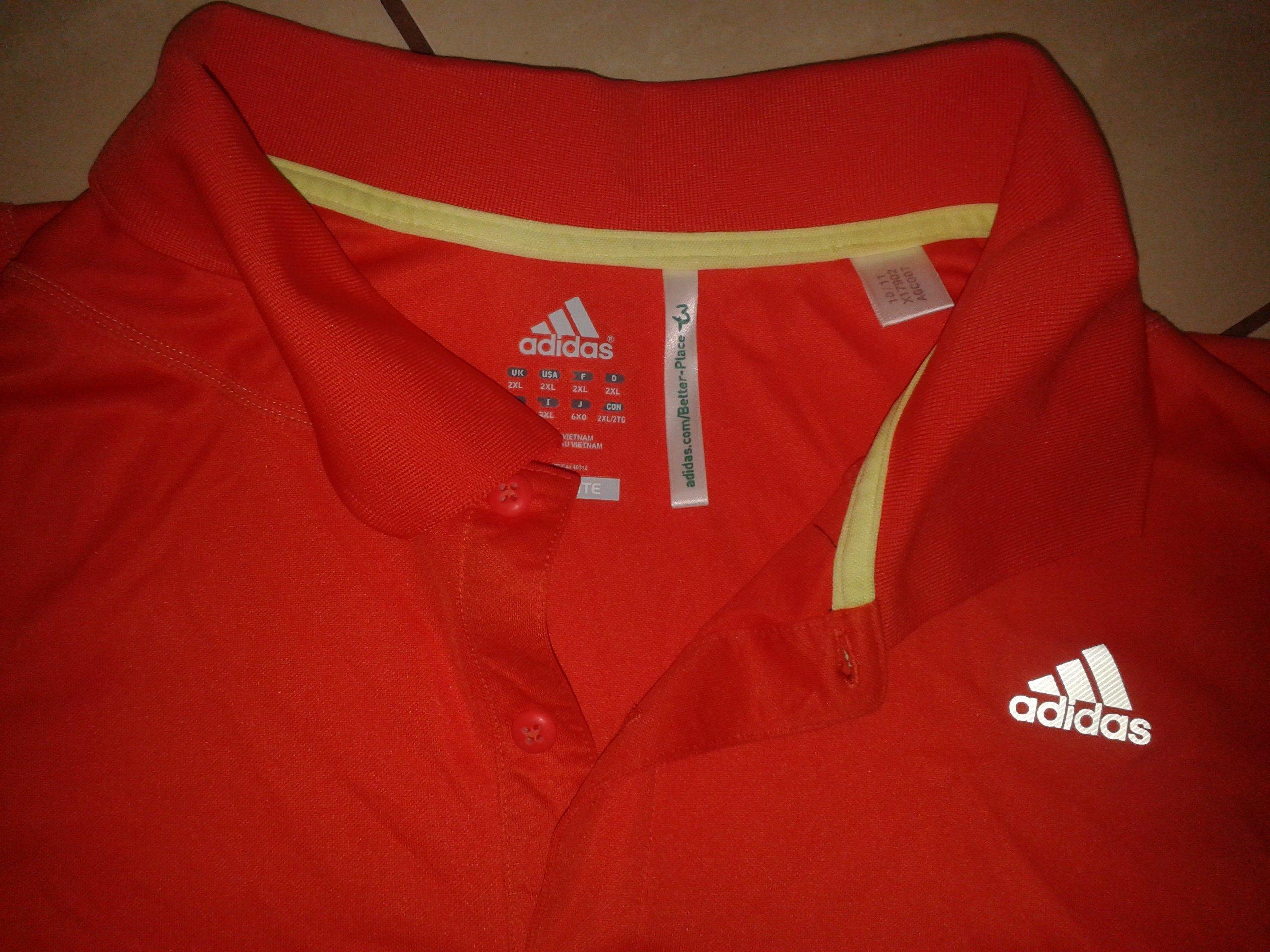 koszulka męska polo adidas adizero 2XL3XL