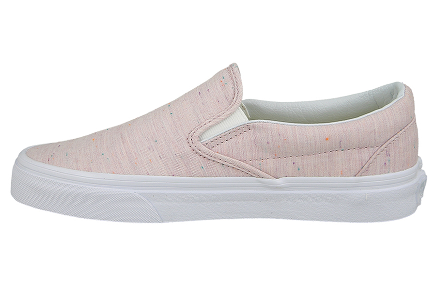 Buty damskie sneakersy Vans Classic Slip On A38F7MT5 szary sneakerstudio.pl