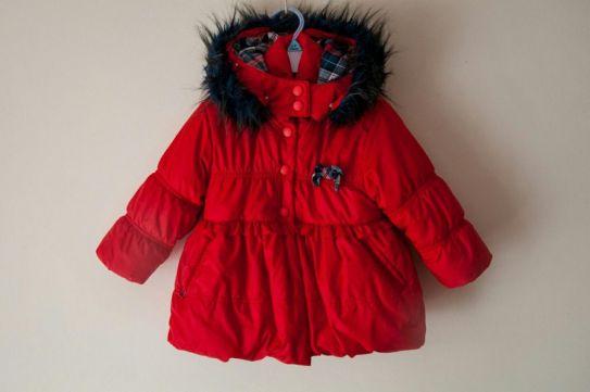 3cde80a583e3ed Kurtka zimowa Wójcik czerwona dla dziewczynki 86 - 7176063780 ...