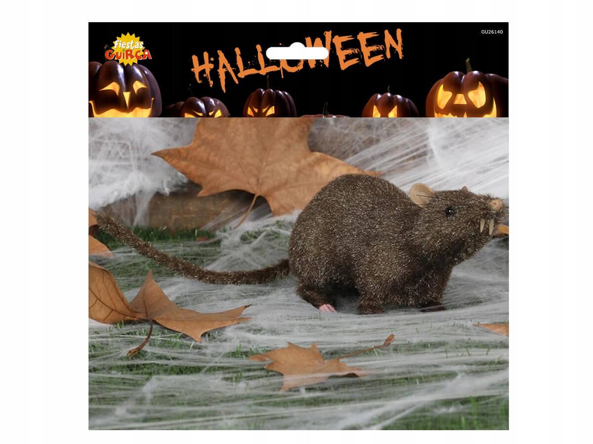 Dekoracja Szczur - 25 cm - 1 szt. Halloween