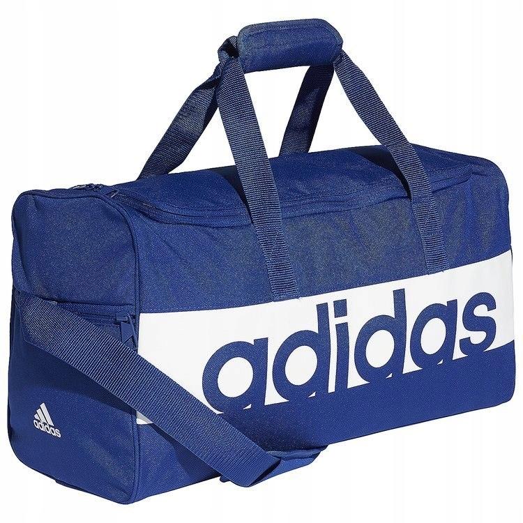 540f675bc347c Adidas Torba Sportowa Essentials Linear Performanc - 7462169602 - oficjalne  archiwum allegro