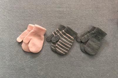 Rękawiczki 3 pary 86/92cm COOL CLUB