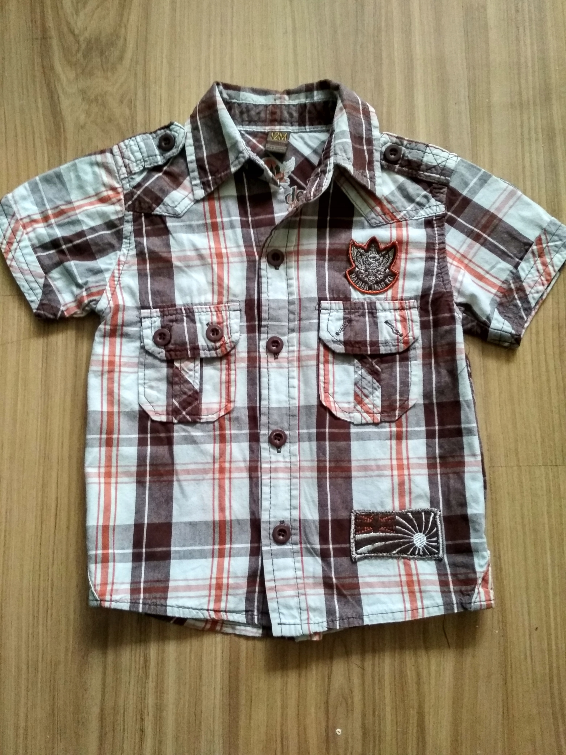 Piękna Koszula z krótkim rękawem rozmiar 92