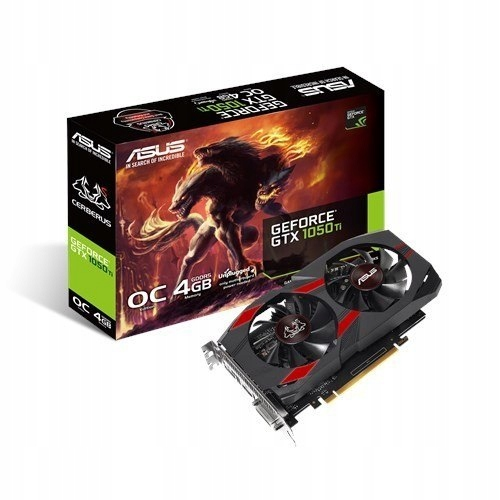 GeForce GTX 1050 TI 4GB GDDR5 128BIT DVI/HDMI/DP/H