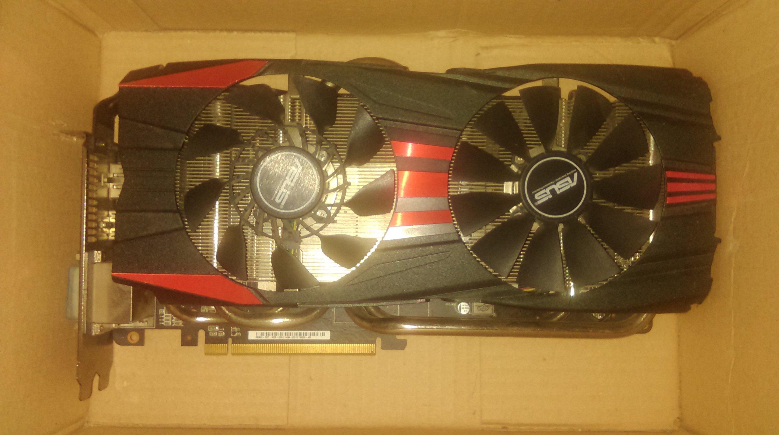 Asus Radeon R9 280X Uszkodzony BCM
