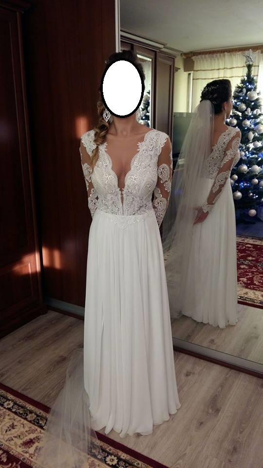 bb57bd9d56 Suknia ślubna z salonu MADONNA