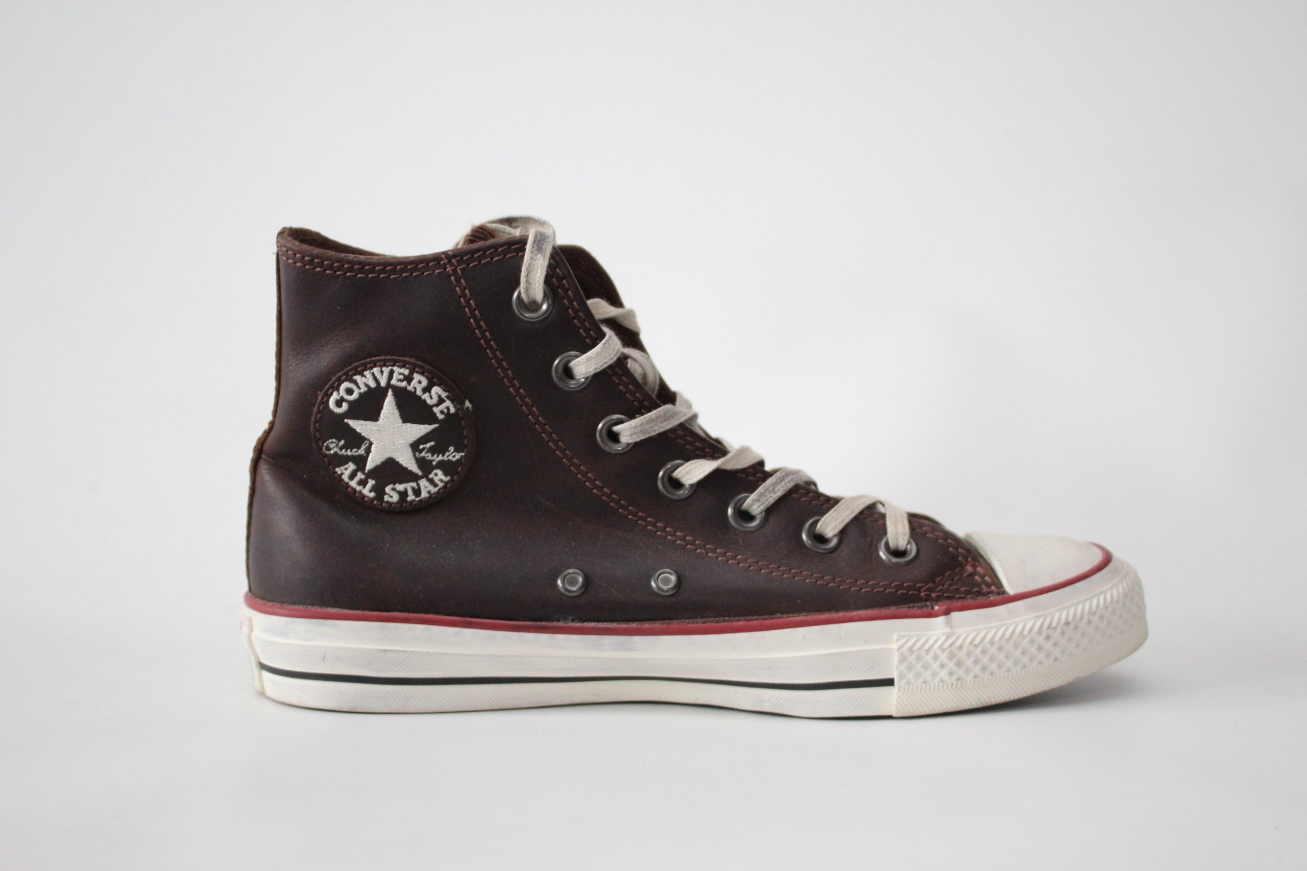 Produkt z Outletu: Wysokie Trampki Converse All Star Bordowe