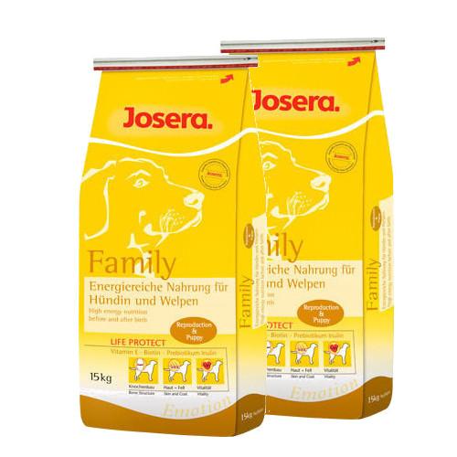 Josera FAMILY dla karmiących suk szczeniąt 2x 15kg