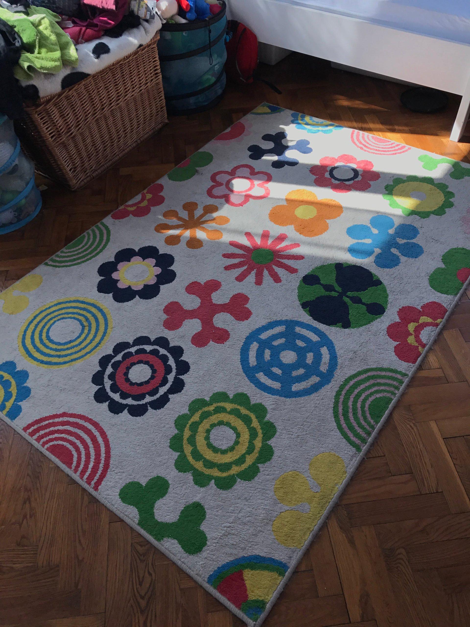 Wełniany Dywan Dla Dzieci Ikea 133x195cm