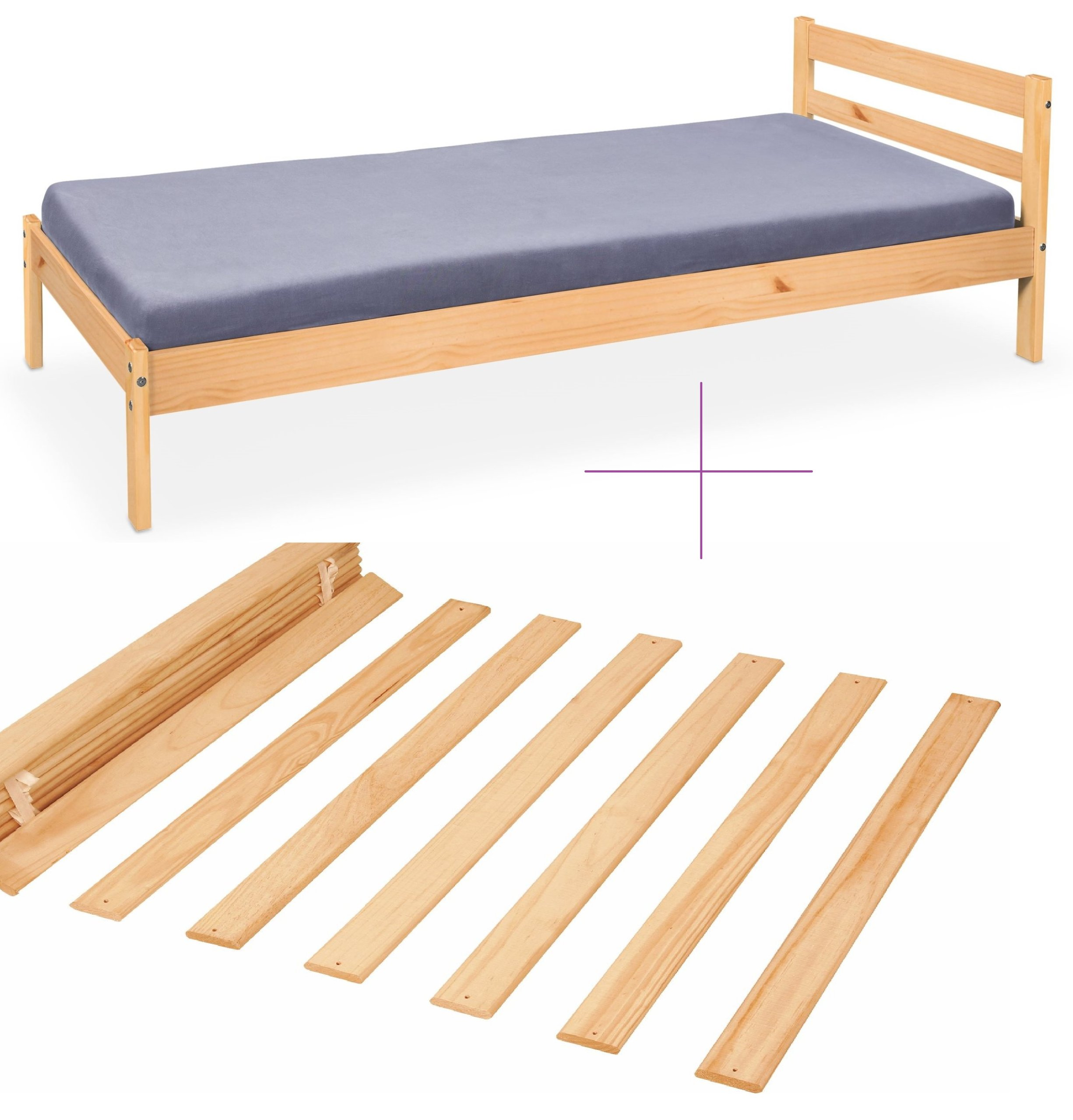 łóżko Dziecięce Tanie łóżka 90x200 Sosnowe 1os 6155849950