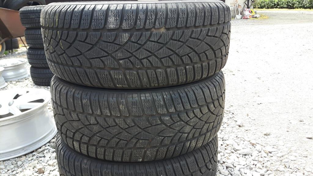 Opony Zimowe Dunlop 22550 R18 7mm Para ładne