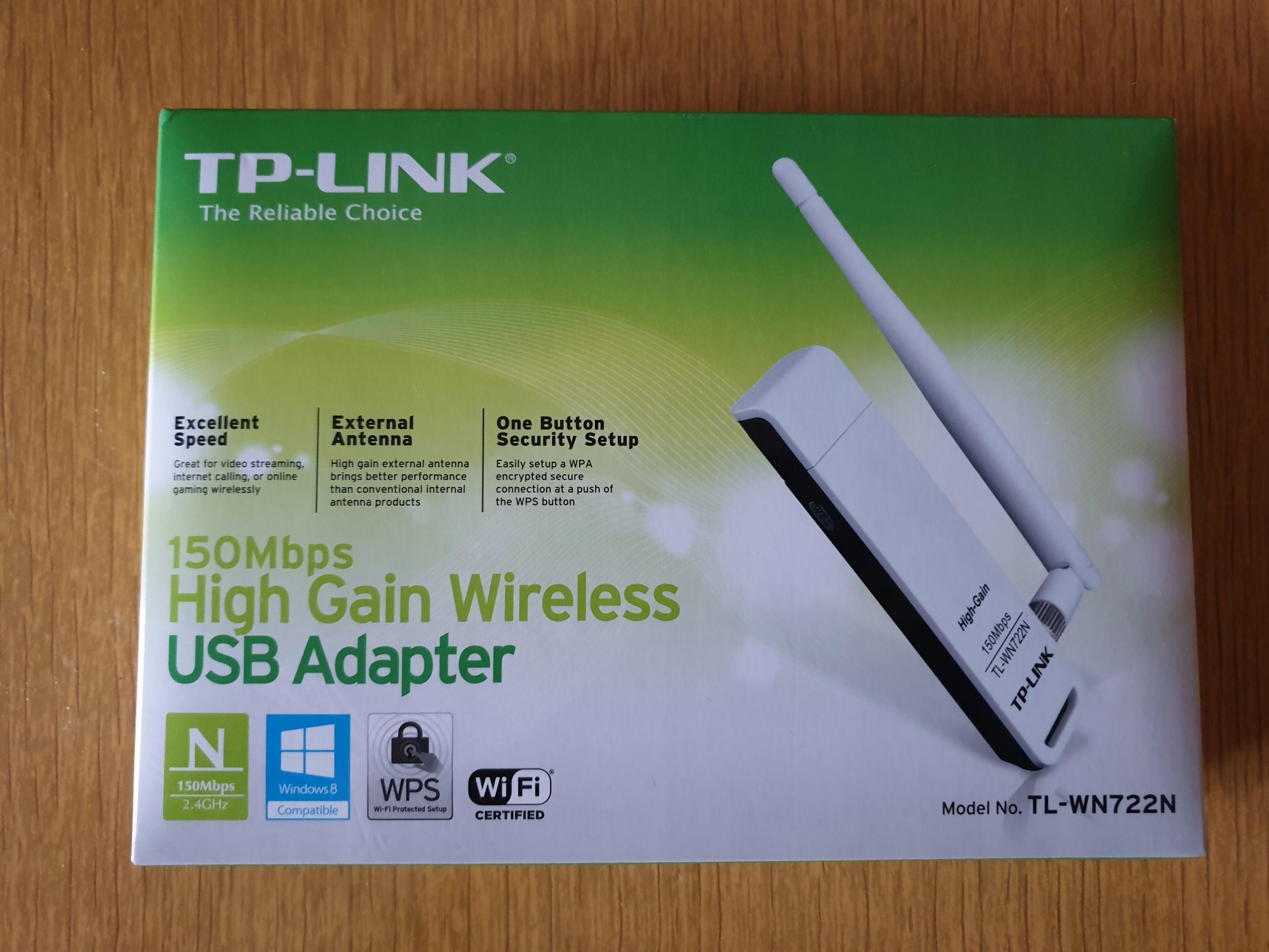 Atheros TP-LINK TL-WN722N v1 10 [KALI LINUX] - 7731453263