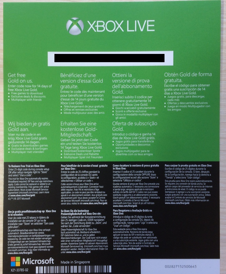 Xbox 360 gold mitgliedschaft code gratis  Free Xbox Live