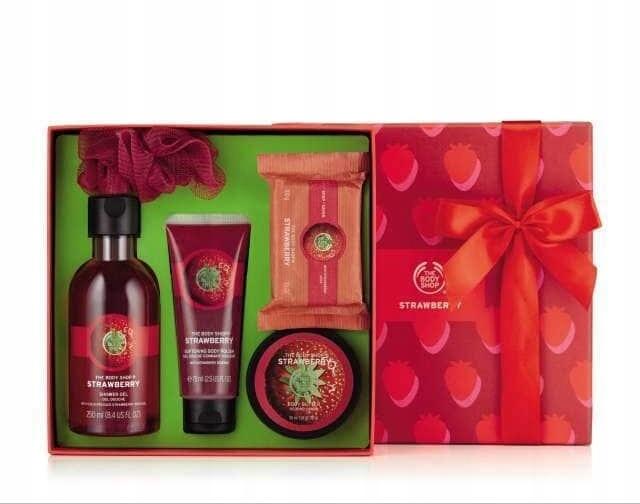 The Body Shop zestaw kosmetyków prezentowy nowy