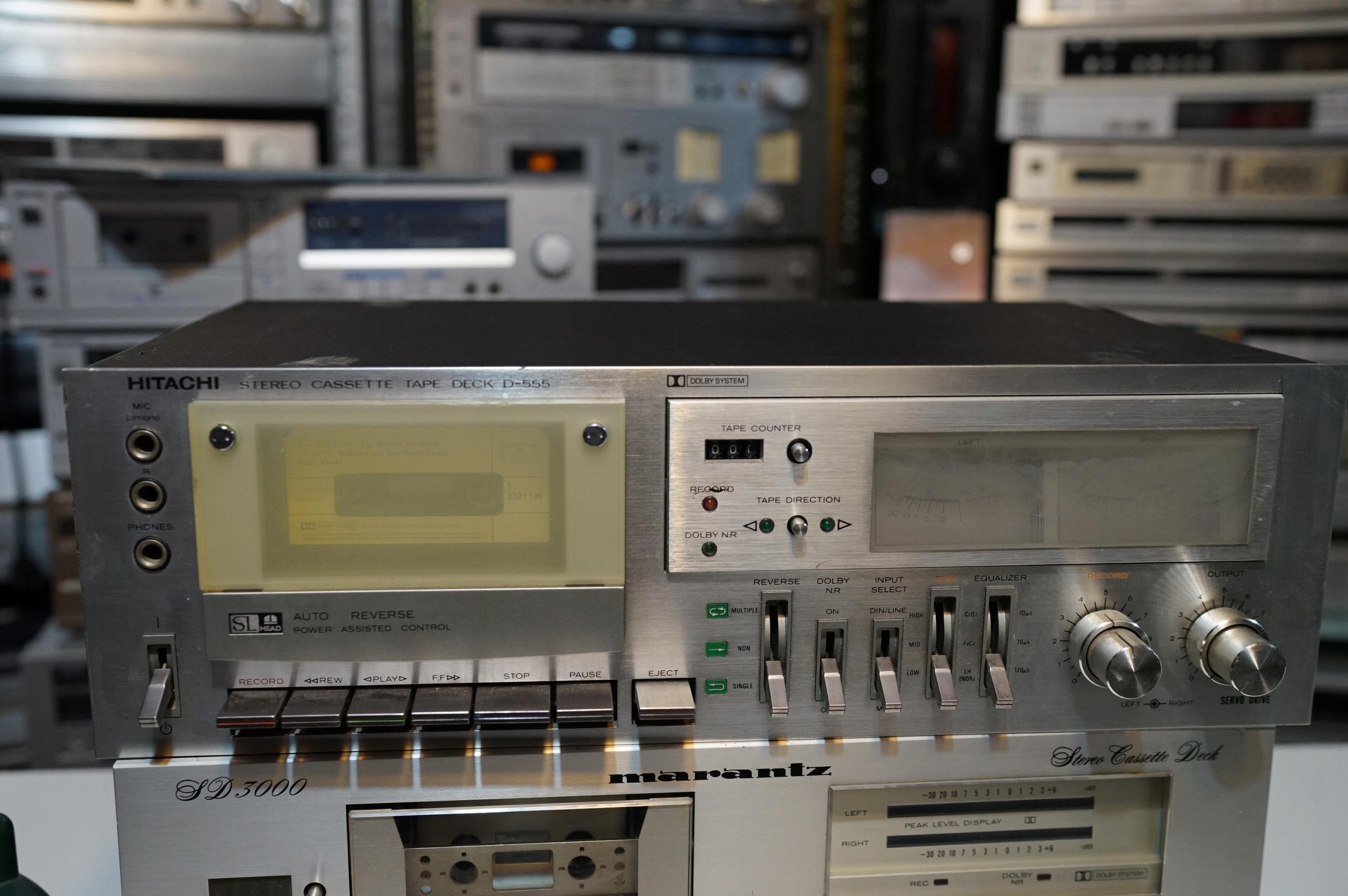 Toschiba D555 Vintage magnetofon deck