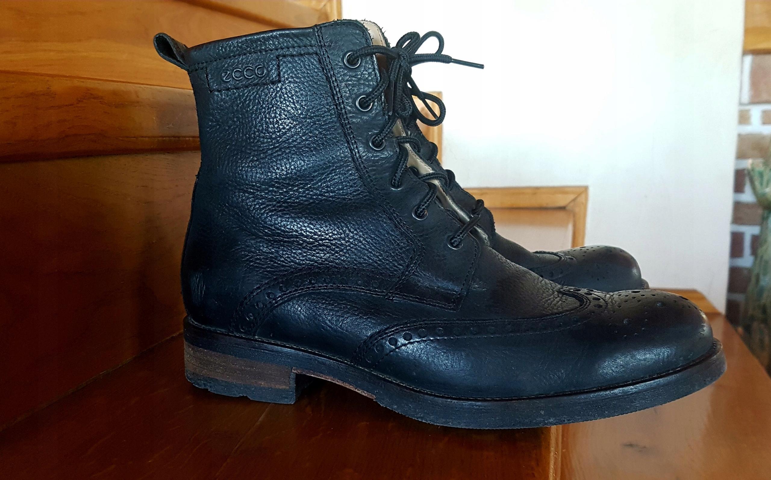 7bd56df9fe28f Ecco buty męskie 40 okazja nowe 659zł - 7591307201 - oficjalne ...