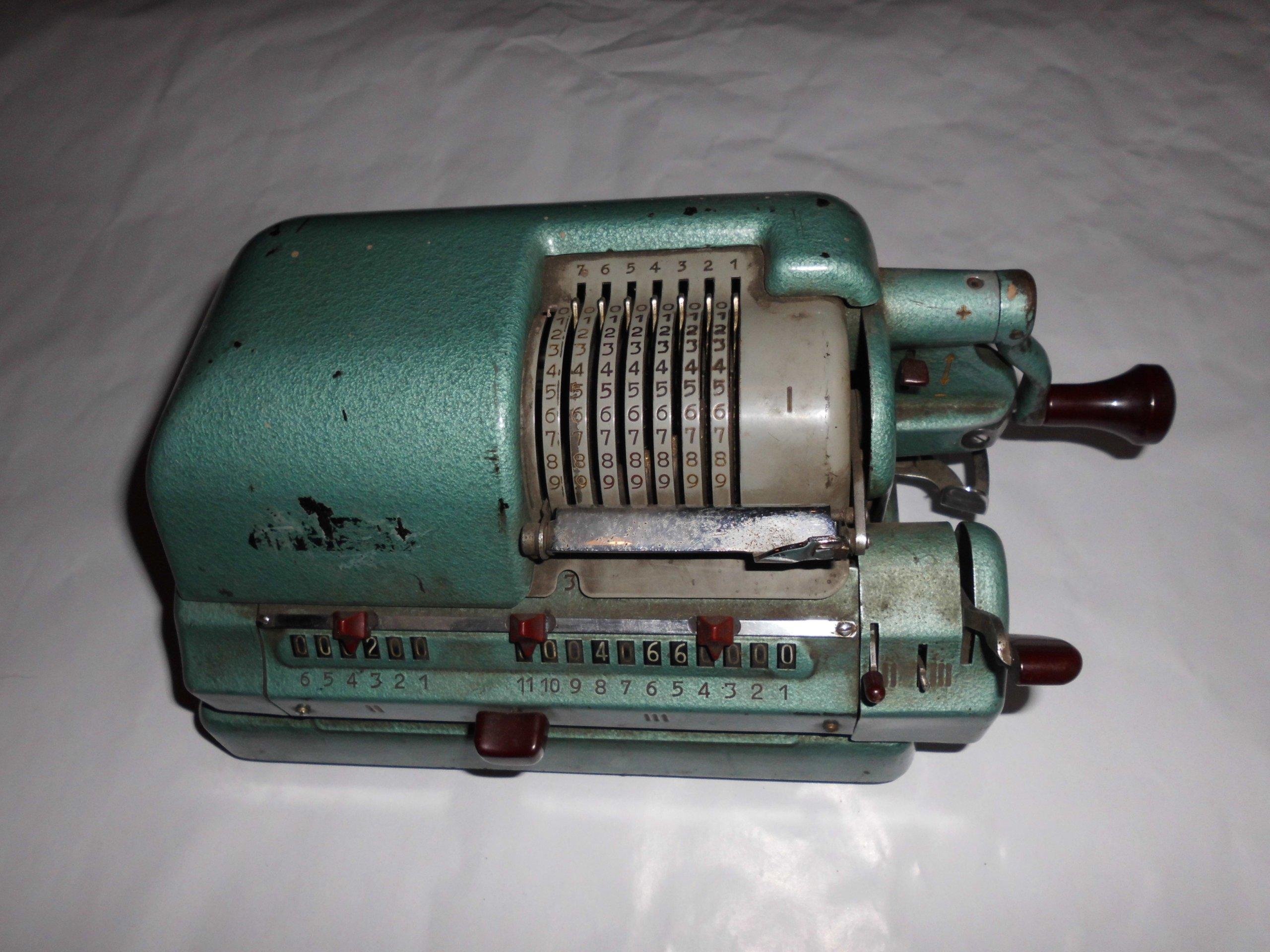 Wspaniały BEM maszyna do liczenia niemiecka lata 50-60te - 7398529953 PR35