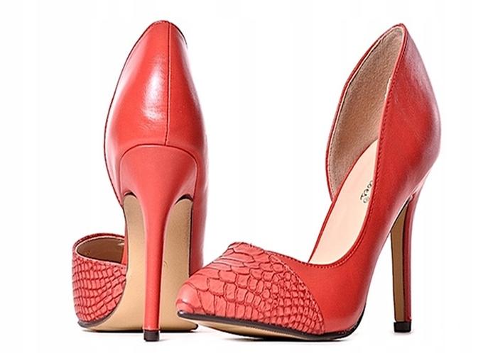 3d221711678e4 buty czerwone na obcasie Wrocław w Oficjalnym Archiwum Allegro - archiwum  ofert