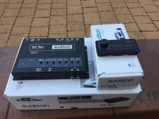 Procesor Audison Bit Ten + kontroler DRC
