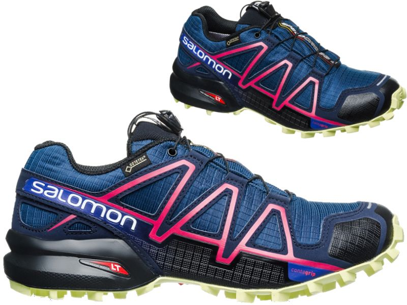 25147393 BUTY DO BIEGANIA SPEEDCROSS 4 GTX SALOMON 38 - 6965453468 ...