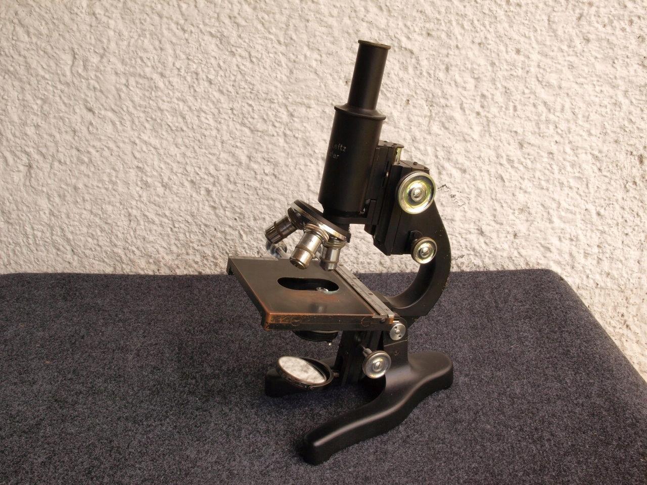 Mikroskop biologiczny ernst leitz wetzlar r