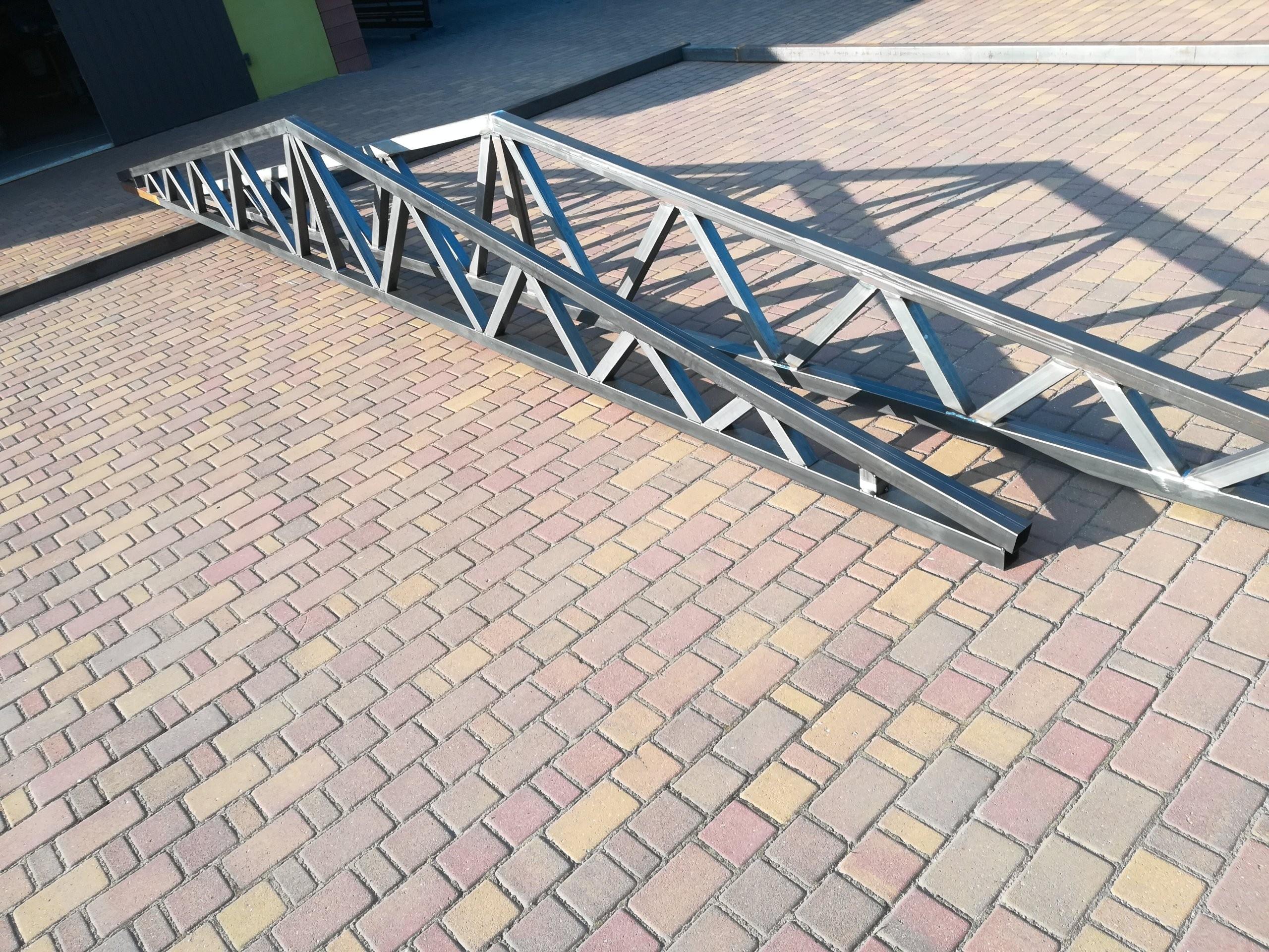 W superbly 6M Konstrukcja Dachowa Stalowa Kratownica Hale - 7394867301 JI86