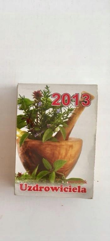 Kalendarz kartka z kalendarza ścienny cały 2013