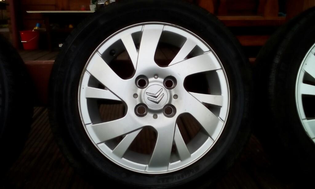 Felgi Aluminiowe Citroen C1 Aygo Peugeot 107 7312551170
