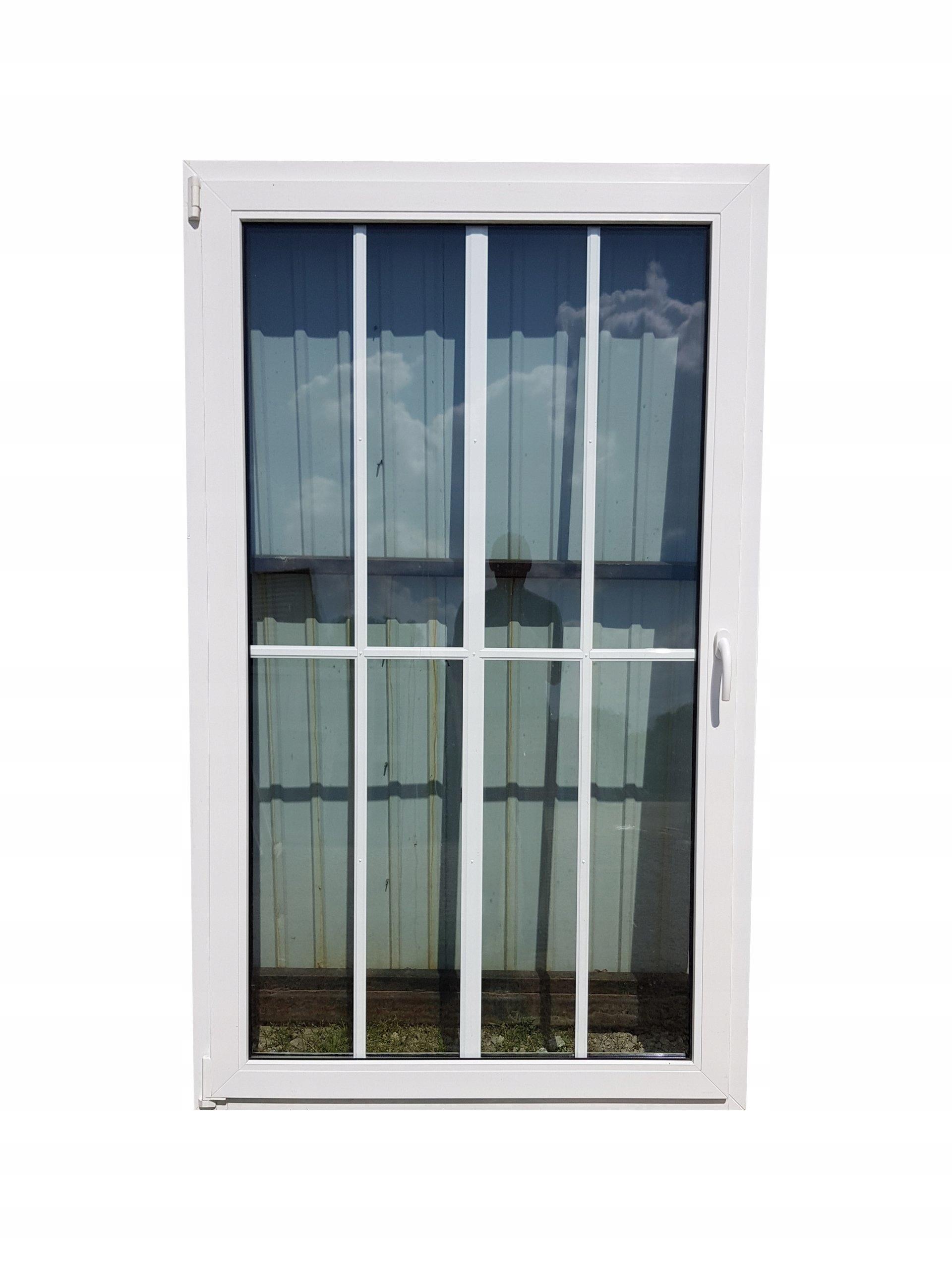 Inteligentny DOWÓZ Drzwi plastikowe BALKONOWE 120X200 szpros - 7413894087 DZ37